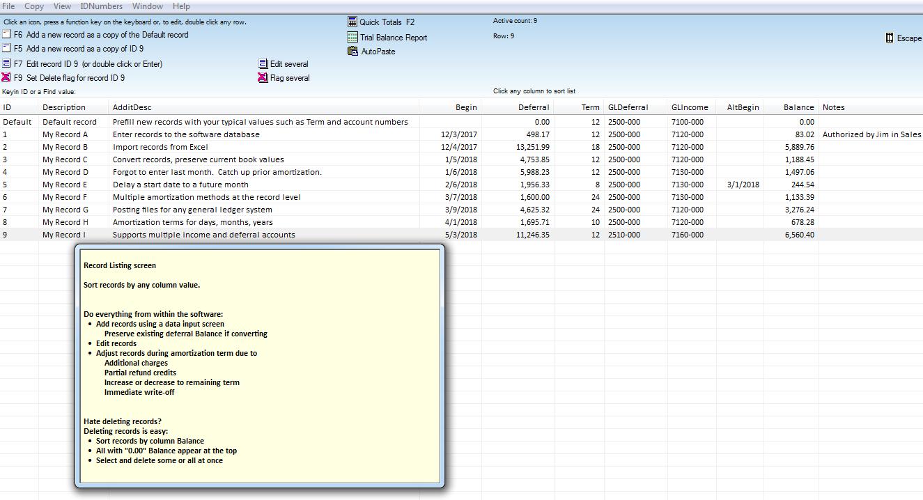 deferred revenue software