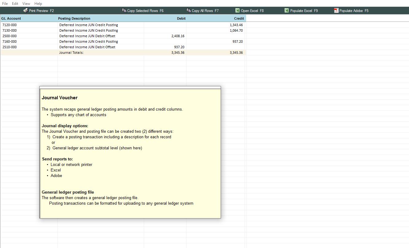 Deferred Revenue Spreadsheet Amortization Software