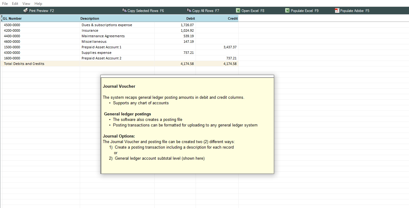 amortization software for small companies