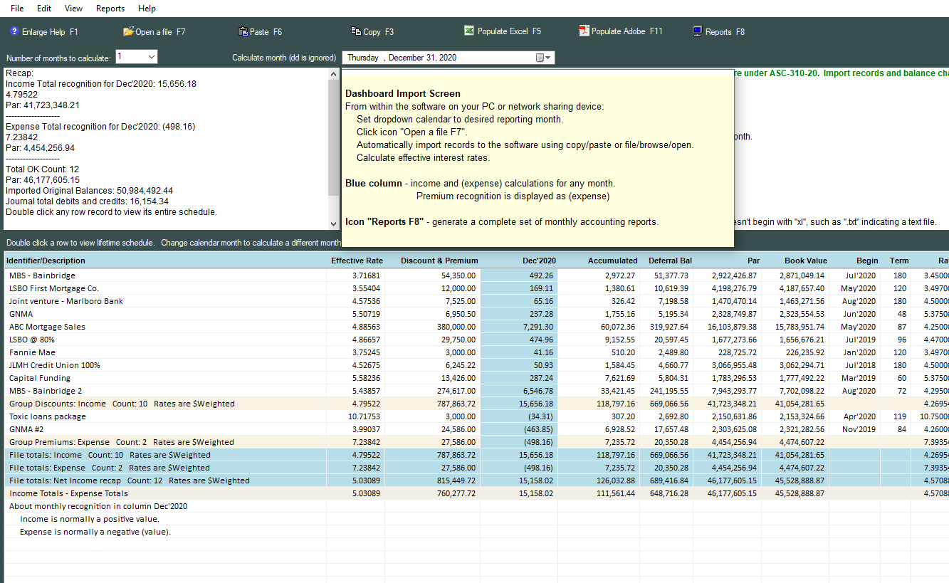 mbs accounting software fasb amortization software for mbs
